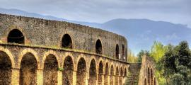 Ruins of Pompeii, the Amphitheater Source: Leonid Andronov / Adobe Stock