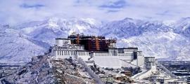 Potala Palace in the winter.