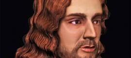 A facial reconstruction of the Renaissance painter Raphael. Source: Tor Vergata University