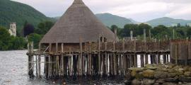 Scottish Crannog Fire Wipes Out Recreated Iron Age House in Minutes
