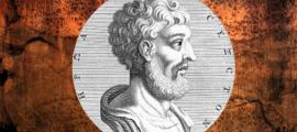 A depiction of Sextus Empiricus.