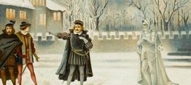 Shakespeare's ghosts meet quantum entanglement.