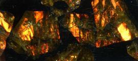 Pallasite - Fukang Meteorite