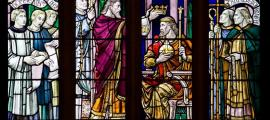 St Dunstan crowns King Edgar