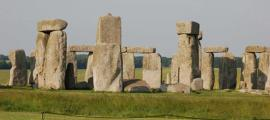 Stonehenge could have been constructed with the help of pig fat.      Source: Public Domain