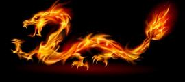 In Asia the dragon is also an ambivalent symbol representing the Yin and Yang. (Dvarg / Adobe)
