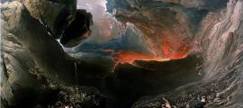 """John Martin's The End of the World, which depicts the """"destruction of Babylon and the material world by natural cataclysm"""". (Public Domain)"""
