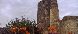 The Maiden Tower is the most recognized structure in the Old City of Baku, Azerbaijan.