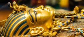 Mask of pharaoh Tutankhamun. Source: Dieter Hawlan / Adobe Stock