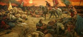 Battle between the Xiongnu (Hun) and the Han Dynasty