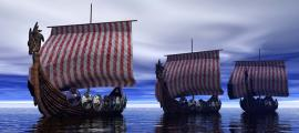Discovery of Viking shipwreck studied by experts.