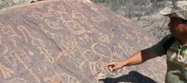 Ancient astronomical symbols in Peru