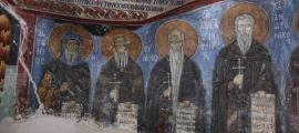 Byzantine monks used asbestos in wall paintings