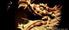Dragon Sculpture, China.