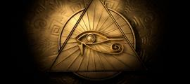An Eye of Horus pendant