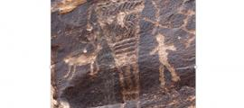 Giants - Rock art in Arizona