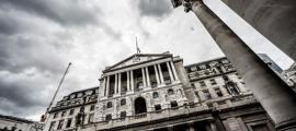 The Bank of England, Threadneedle Street, City of London, UK. Credit: KittyKat / Adobe Stock