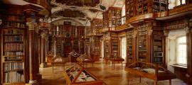 The library of the Abbey of St. Gall.