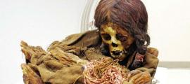 The mummy Ñusta. Credit: Michigan State University