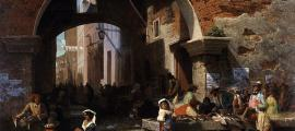 Roman Fish Market. Arch of Octavius