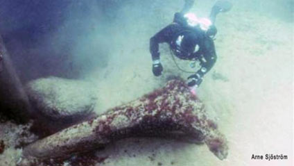 Swedish divers find 11,000-year-old underwater relics