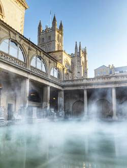 Thermal springs, Bath, England
