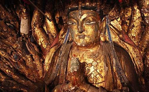 Thousand hand Bodhisattva
