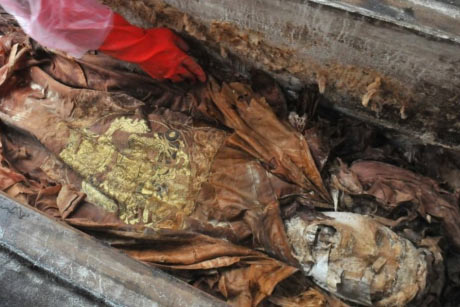 The tomb of Attila the Hun uncovered in Budapest