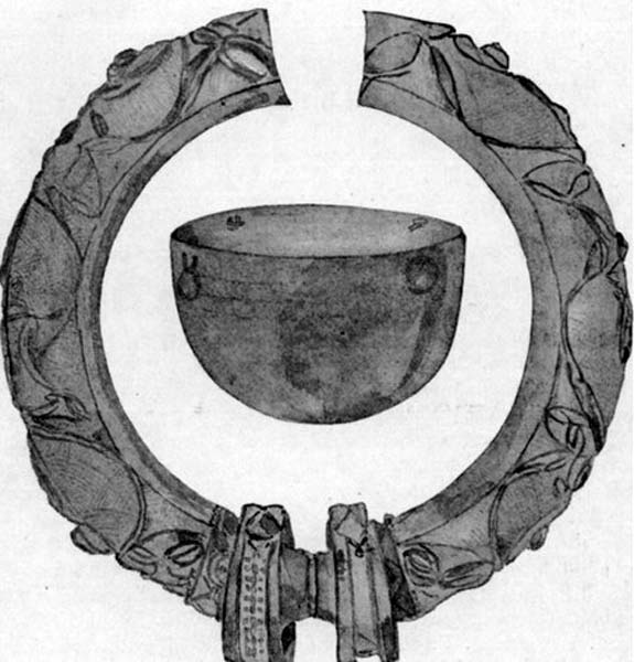 The torc and bowl.