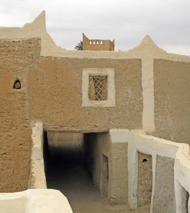A traditional house in Ghadames