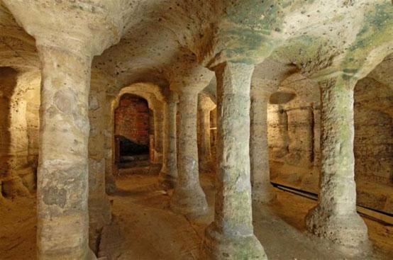 Underground caves of Nottingham