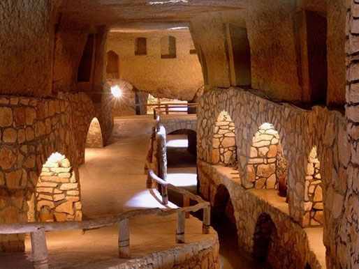 The underground city of Kish