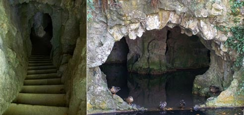 A system of tunnels - Quinta de Regaleira