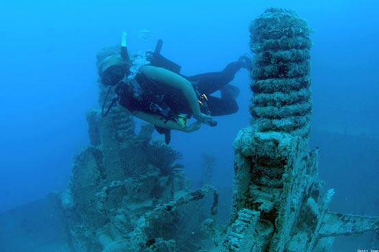 Underwater relics in Ireland - Spanish Armada