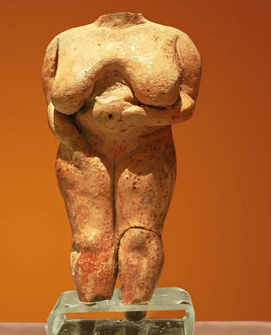 The 'Venus' figure of Malta