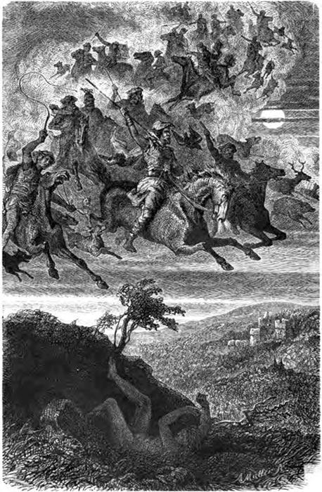 Wodan's Wild Hunt (1882)