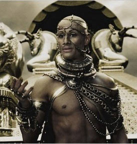 Xerxes from the movie 300