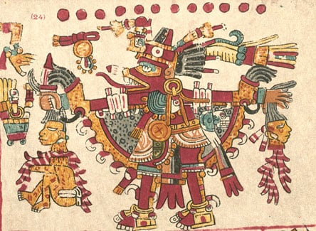 Xolotl, Aztec god