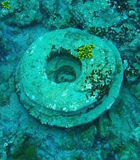 Submerged Ruins in Zakynthos