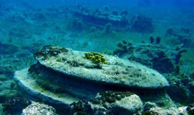 The controversial underwater structures of Zakynthos